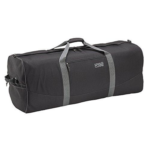 lewis-n-clark-uncharted-900d-zipper-duffel-bag-black-14x36-inch