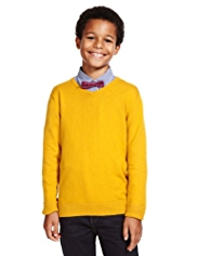 Autograph Cotton Rich Jumper & Shirt Outfit with Bow Tie