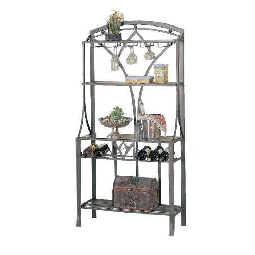 Poundex Vella Collection Wine Rack