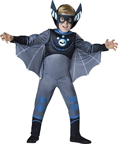 Wild Kratts Quality Blue Bat Costume For Boys - S
