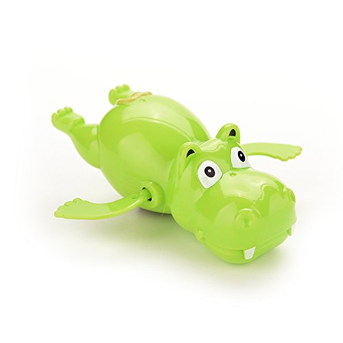 Wonderful-Buying-1-X-Baby-Educational-Hippo-Clockwork-Wind-Up-Plastic-Swimming-Toy