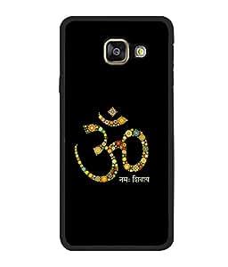 printtech Lord Om Namah Shivaya Back Case Cover for Samsung Galaxy A7 (2016) :: Samsung Galaxy A7 (2016) Duos with dual-SIM card slots