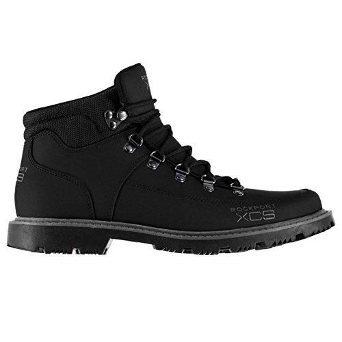 rockport-hombre-xcs-mdgd-botas-zapatos-collar-acolchado-con-cordones-resiste-negro-42