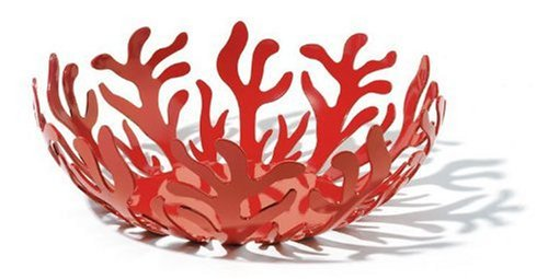 Alessi Mediterraneo Fruit Holder D29, Red (ESI01/29 R)