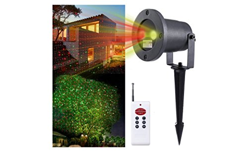 Outdoor-Laser-Amazer-RED-and-Green-star-show-projector-Holiday-Lighting-Decoration-Christmas-Lights