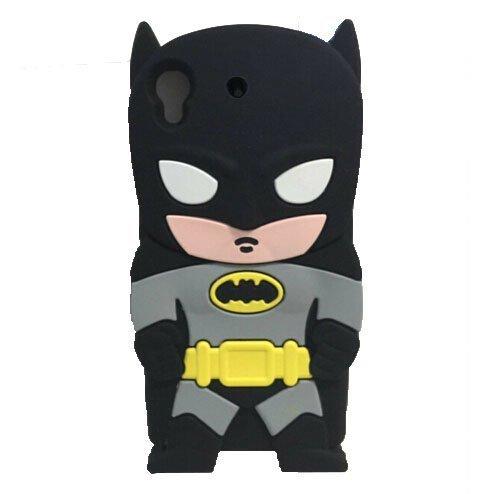 HTC Desire 626 / 626s case, Mingfung 3D Cute Super Hero Gangs batman Silicone Case Skin Cover for HTC Desire 626 / 626s at Gotham City Store