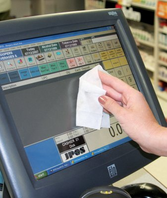 EZ Screen Wet / Dry Wipes for Touch Screen Monitors, Plasma and LCD Screens