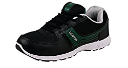 Campus Mens Deacon Green Synthetic Sports Shoes (SJ-403-BLK-GRN) - 8 UK