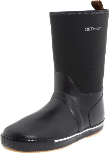 Tretorn Women's Skerry Neo Rain Boot,Navy Blue/Yellow,39 EU/8 B US