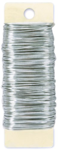 Paddle Wire 22 Gauge 4 Ounces/Pkg-Bright (Floral Wire compare prices)