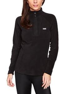 Helly Hansen Women's W Mount Prostretch 1/2 Zip Fleece Sweater - Black, X-Small