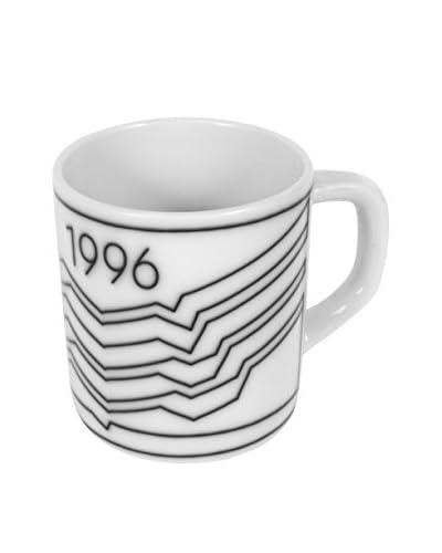 Royal Copenhagen 1996 Annual Mug, White/Blue