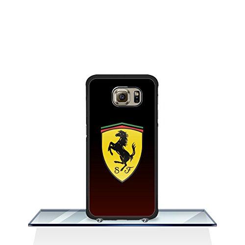 Ferrari - [ Car ] Case Cover GalaxyS6Edge Ferrari SamsungS6Edge Telefon-Kasten HülleCase Drop Proof für Jungen Ferrari SamsungGalaxyS6Edge Back Cover