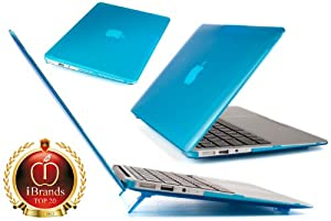 iPearl mCover Hard Shell Cover Case For 11.6-inch Apple MacBook Air A1370 & A1465 - AQUA