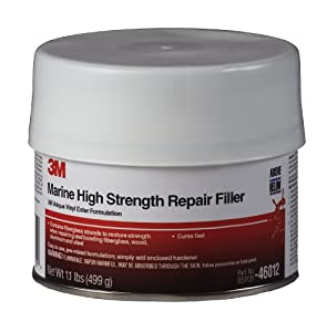 3M Marine High Strength Repair Filler (1 Pint) by 3M
