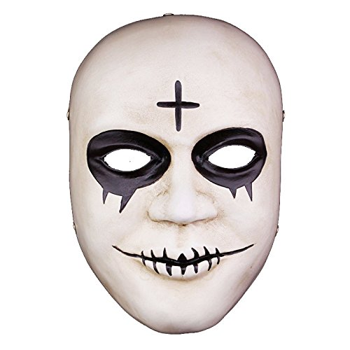Halloween Resin Mask,SALICO Masquerade The Terminator Costume Mask Cosplay Party Mask