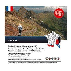 Garmin TOPO France Montagne PRO GPS Karte, micro SD/ SD