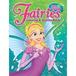 Bendon Books Coloring & Activity Sticker Fairies Book