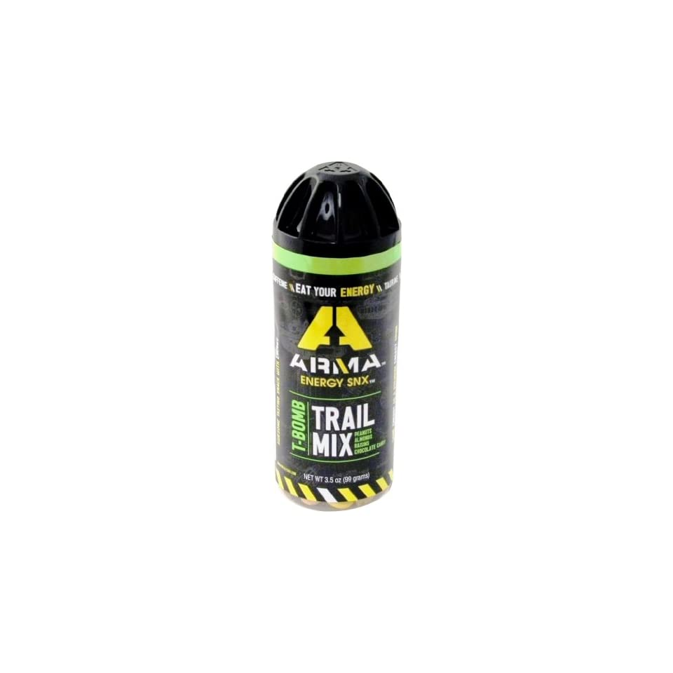 Arma Energy Snx Trail Mix,T Bomb, 3 5 Ounce (Pack of 8) on