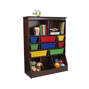 KidKraft KidKraft Wall Storage Unit - Espresso by KidKraft LP