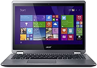 Acer Aspire R14 R3-471T-77HT 14-Inch HD Convertible 2 in 1 Touchscreen Laptop (Silver)
