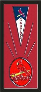 St. Louis Cardinals Wool Felt Mini Pennant & St. Louis Cardinals Team logo Photo... by Art and More, Davenport, IA