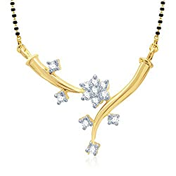 VK Jewels Creative Fashion Mangalsutra Pendant for Women- MP1005G [VKMP1005G]