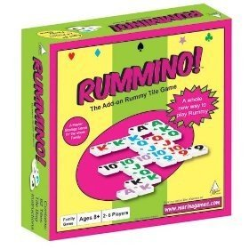 Rummino - A Rummy Meets Dominoes Board Game
