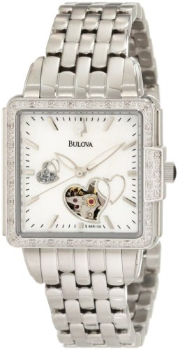 Bulova Women's 96R155 Diamond Mechanical Watch