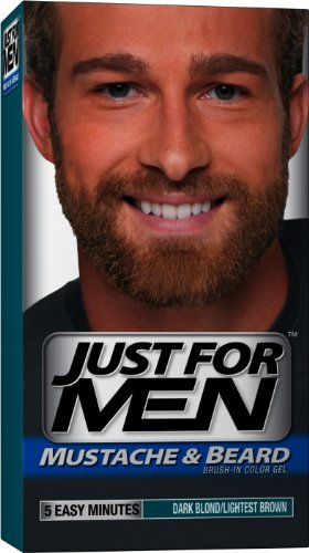 just for men moustache et la - Coloration Barbe Homme