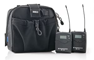 Think Tank Multimedia Wireless Mic Kit, Utility Bag for Two Wireless Lavalier Microphone Sets.