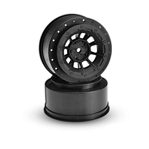 Rear Hazard Wheel, Black (2) : Slash - 1