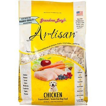 Grandma Lucys Grain-Free Chicken Dry Dog Food 3lb