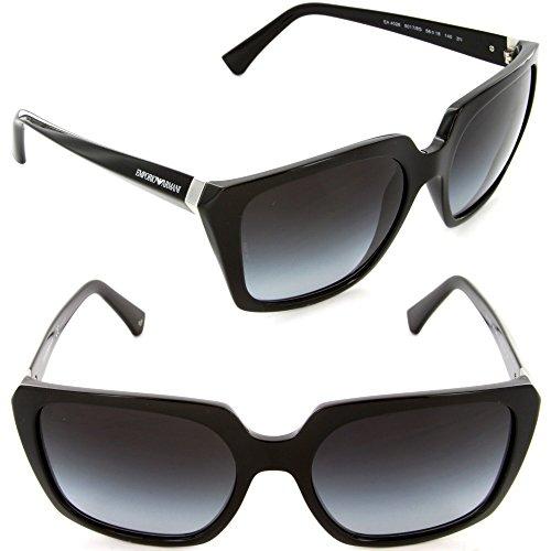 Emporio Armani Ea4026 Sunglasses-50178G Black (Gray Gradient Lens)-56Mm
