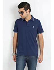 Sting Men's Navy Blue Polo T-Shirt