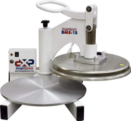 DoughXpress DMS-18 Economic Manual Pizza Dough Press with 18