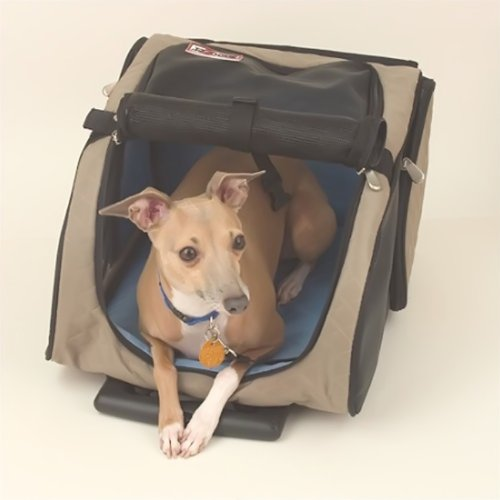 Snoozer Roll Around Pet Carrier - Medium/Khaki Sn-86203