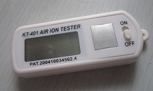 KT-401 Air Ion Counter Tester Meter test negative Ions with peak maximum hold