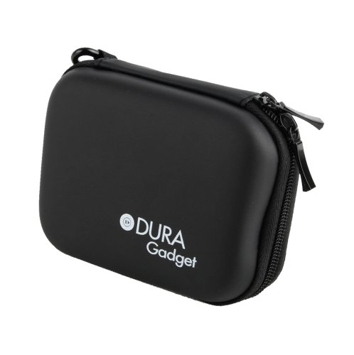 Robustes EVA Hard Case / Etui für Panasonic Lumix DMC-SZ10 Kompakt Kameras - Schwarz - von DuraGadget