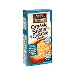 Back To Nature Shells & Cheese Dinner, 6-Ounce (Pack of 12)