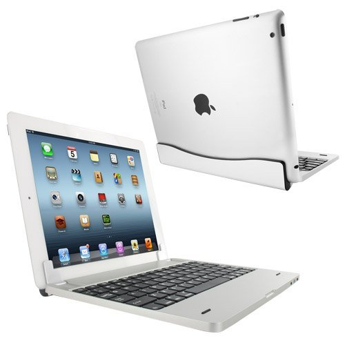 Sharksucker M6 Wireless Magnetic Bluetooth Keyboard With Powerbank Inside For Apple Ipad 2/3/ New Ipad