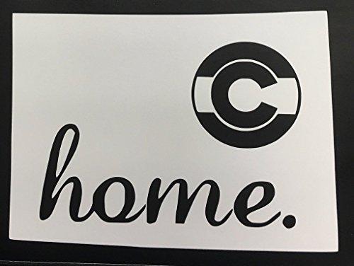 CMI689 Home Colorado Vinyl Die Cut Decal/Bumper Sticker for Windows, Cars, Trucks, Laptops, Etc. | 7.5