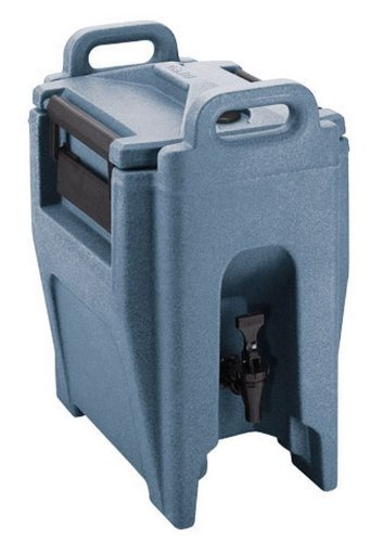 Cambro Uc250-401 Ultra Camtainer Polyethylene Insulated Beverage Carrier Cart, 2-3/4-Gallon, Slate Blue