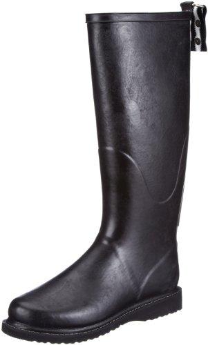 Ilse Jacobsen Hoher Gummistiefel Rubber Boots Womens Black Schwarz (Schwarz Schwarz 0101) Size: 3 (36 EU)