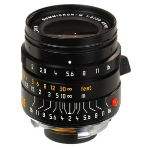 Leica Summicron-M 28Mm F/2 Asph Lens- Black
