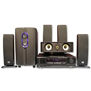 SLS Q-Line Gold 650w 5.1 Surround Sound Home Theater System