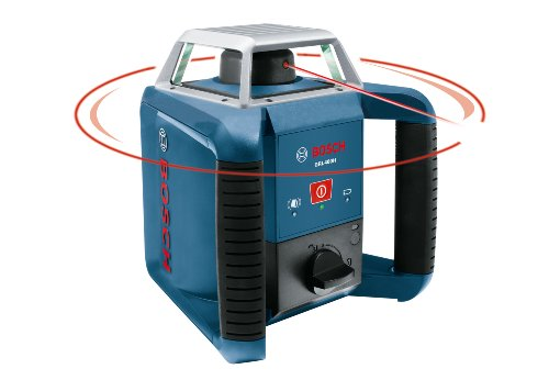 Bosch GRL400H Self-Leveling Rotary Laser with Laser Receiver