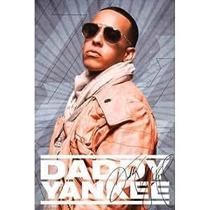 Amazon.com - Daddy Yankee Portrait Music Poster, 20x30 inch -
