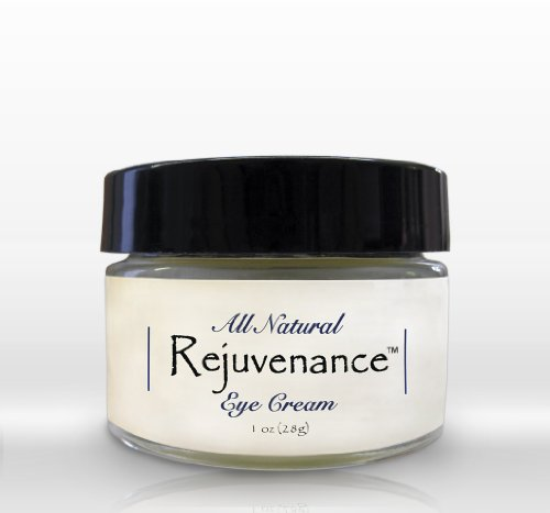 Rejuvenance - 100% Natural, Organic Under Eye Cream - Removes Dark Circles, Lines And Wrinkles From Under Eyes...
