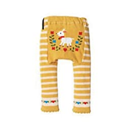 Wrapables Baby & Toddler Leggings, Lovely Billy Goat - 12 to 24 Months